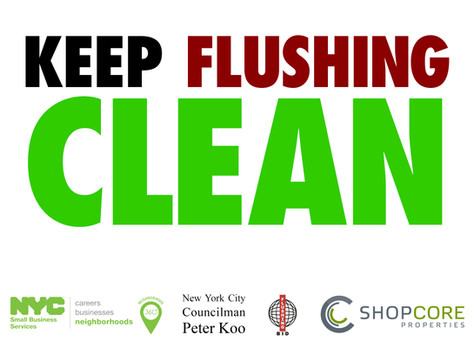 Keep Flushing Clean Campaign