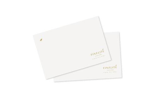 フィナリテ メッセージカード
