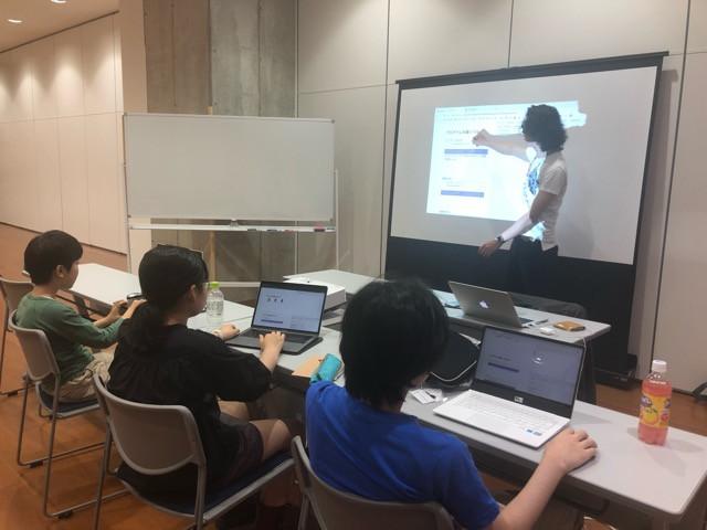 「まちの先生プロジェクト〜プログラマーから学ぼう〜基礎編」活動報告