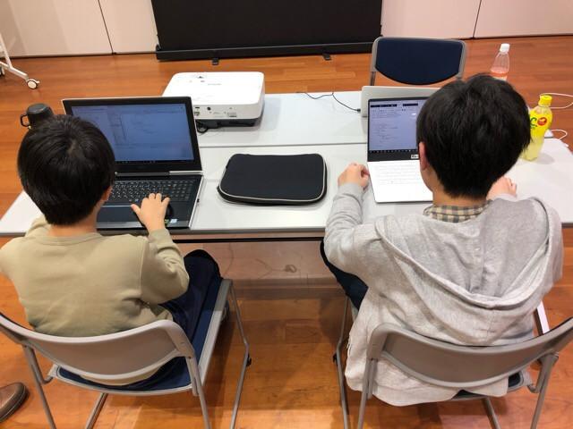 【まちの先生プロジェクト〜プログラマーから学ぼう応用編〜 最終日やってます!】