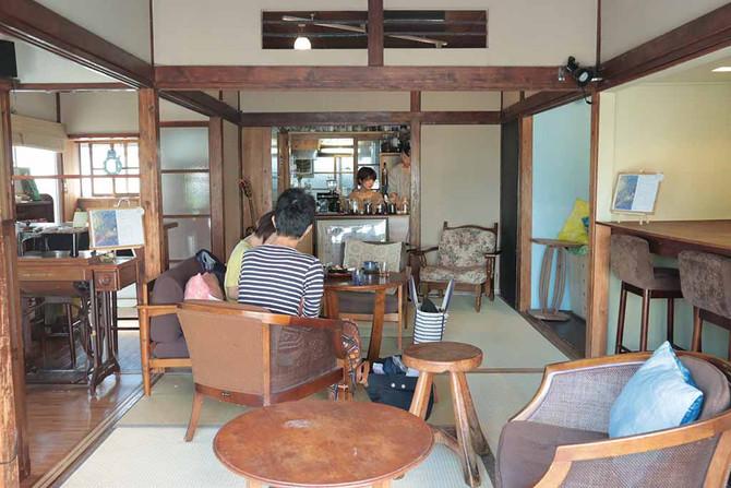 喫茶ラムピリカ――ゆったりした時間を過ごせる古民家カフェ