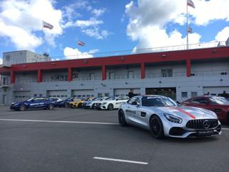 Mercedes-Benz презентация новых моделей на Moscow Raceway
