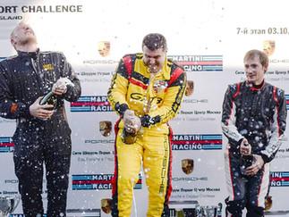 Заключительный 7 этап Porsche Club Cup Russland