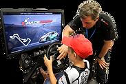 Аренда профессиональных гоночных автосимуляторов raceroom для мероприятия в аренду с тремя 3 экранами, автоспорта, выставки, корпоратива, праздника, презентации