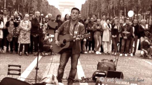 Youri Menna, Live @Champs-Elysées 05.06.2016 «Imagine»