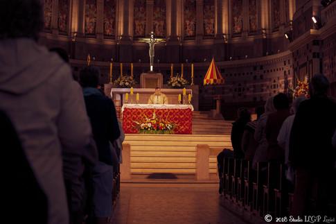 Messe, Basilique supérieure de Lisieux