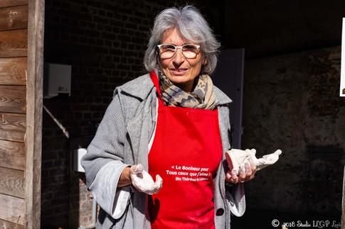 Atelier Restauration avec Dominique Colas, Les Buissonnets
