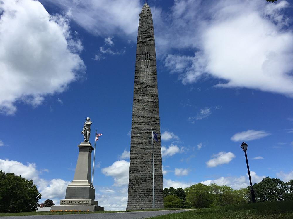 Greg Harriman Bennington Vermont Battle Monument