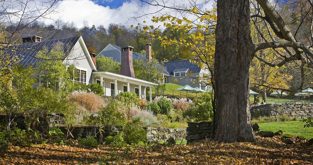 Gregory Harriman Vermont has the best hotel of the year