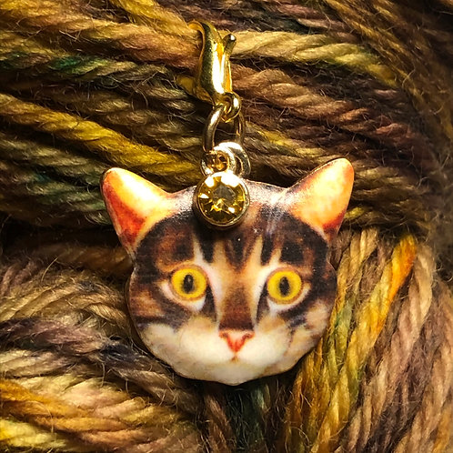 Sparkle Meow Stitch Marker