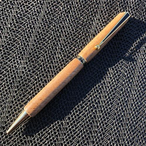 Slimline Wood Turned Pen
