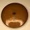 Thumbnail: Vintage Button - brown, plastic
