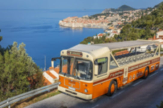 Dubrovnik panorama bus