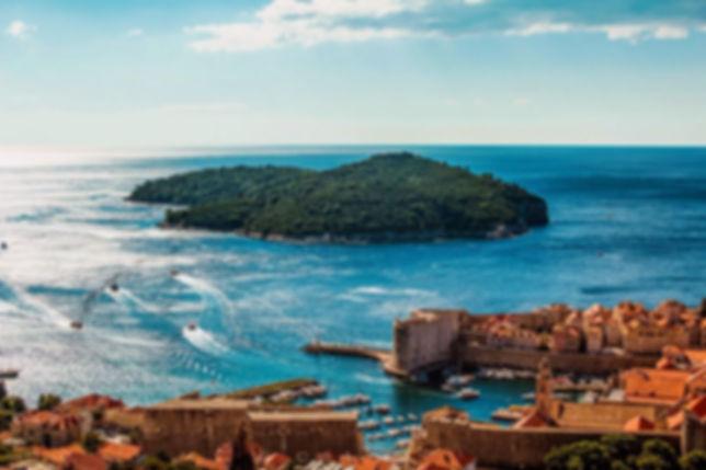 Dubrovnik Island of Lokrum