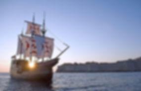 Karaka boat Dubrovnik