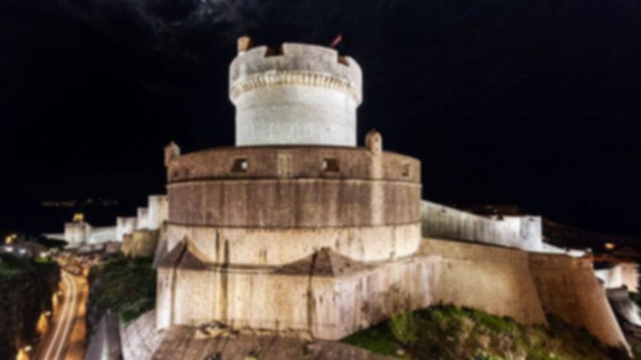 Fort Minceta tower Dubrovnik City Walls