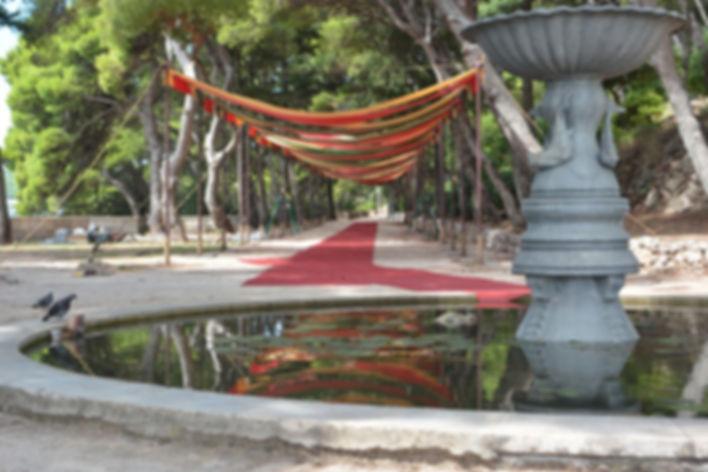 Park Gradac Purple Weding location