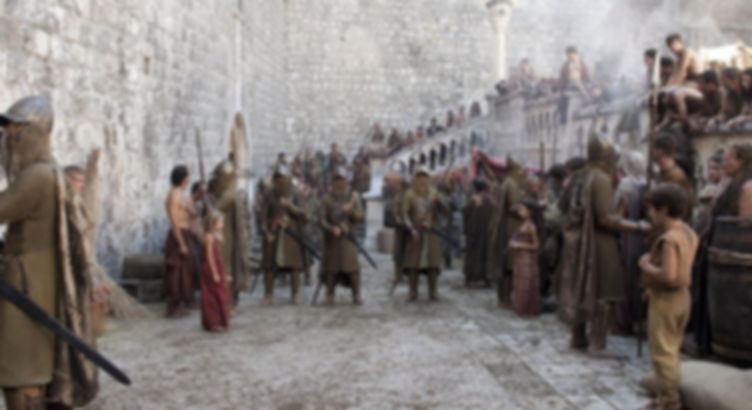 Game of Thrones scene at Pile Gate Dubrovnik