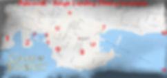 Kings Landing map of filming locations (Dubrovnik)