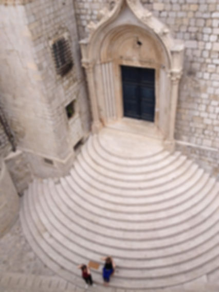 Dubrovnik Dominican monastery stairs