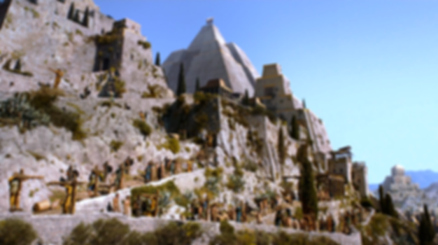 meereen from Game of Thrones filmed in Klis Fortress
