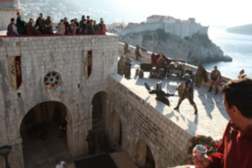 Fort Lovrijenac The Red Keep Game of Thrones Dubrovnik