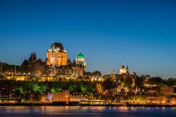 Quebec City Cityscape Night