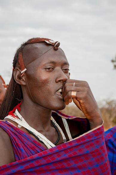 Maasai Mara Warrior
