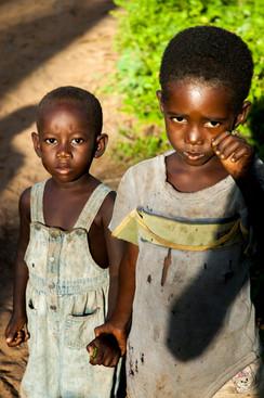 Kenyan Siblings