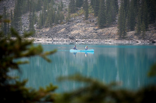 Lake Moraine Canoeing