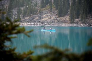 Lake Moraine Canoeing