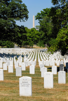 Arlington Cemetery and Washington Monument
