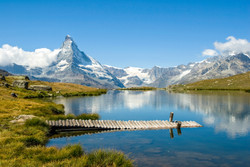 Switzerland Zermatt Materhorn