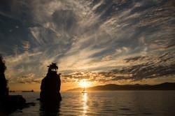 Vancouver Sunest  - Stanley Park