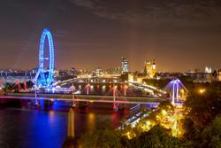 London Thames Skyline