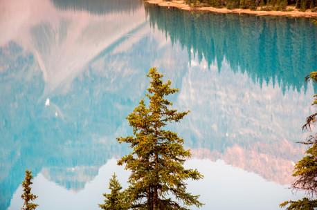 Lake Moraine Reflection