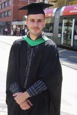 Michiel Meyboom Graduation