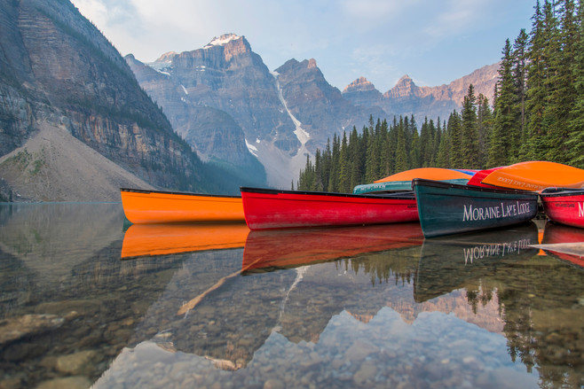 Lake Moraine Canoes