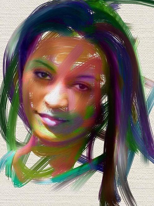 Color Expressive Portrait