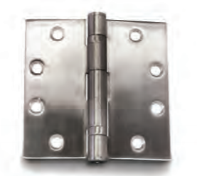 Steel Butt Hinges Non-Removable Pin