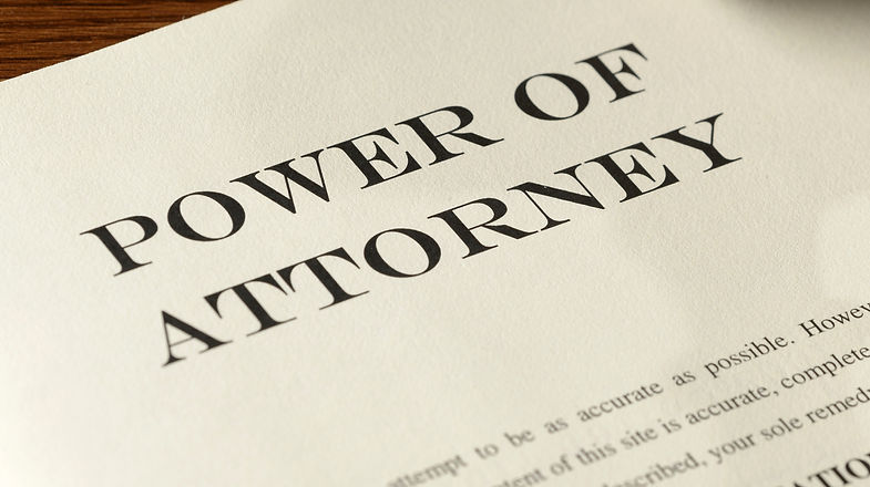 Healthcare Power of Attorney