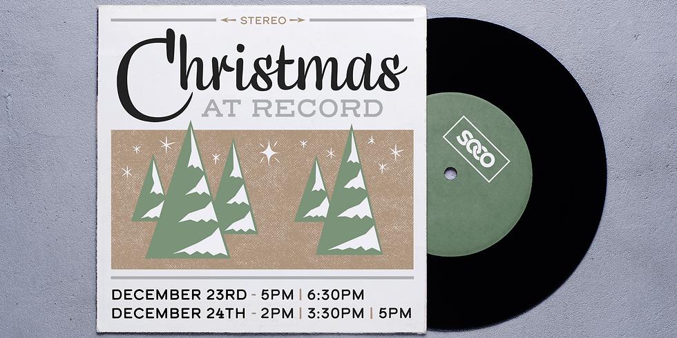 CHRISTMAS AT RECORD