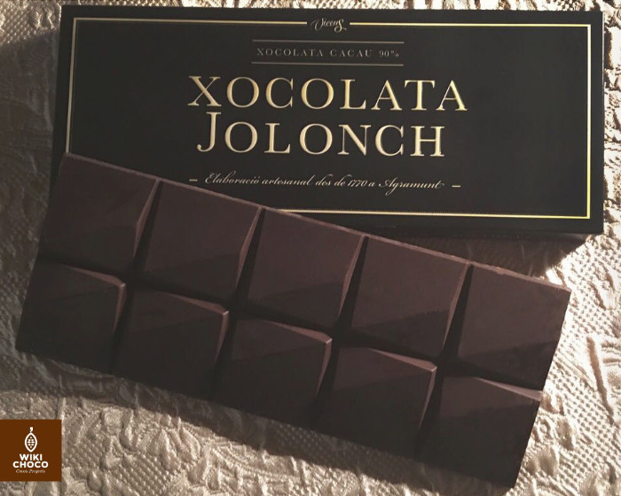 Chocolate Xocolata Jolonch a la piedra