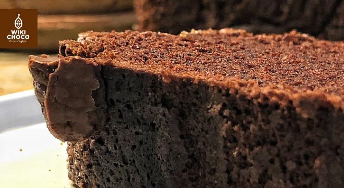 detalles del chocolate cake de il tavolo verde