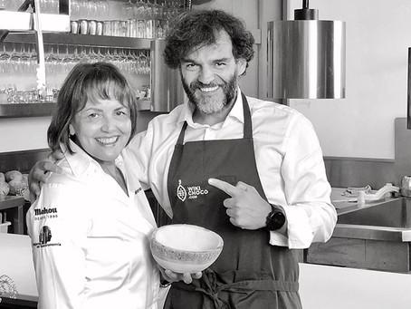 El Restaurante Monastrell comparte con Wikichoco