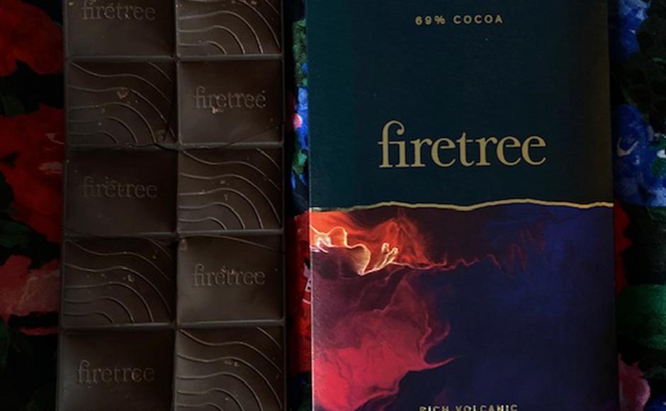 Firetree, un rico chocolate volcánico