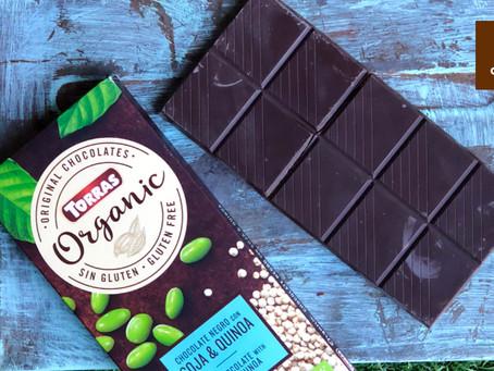 Un chocolate con diferentes texturas