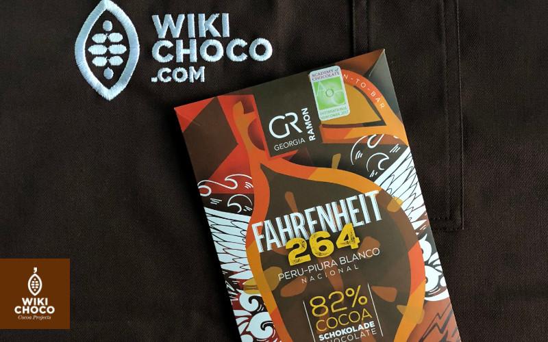 chocolate fahrenheit 264 con 82 % cacao peruano