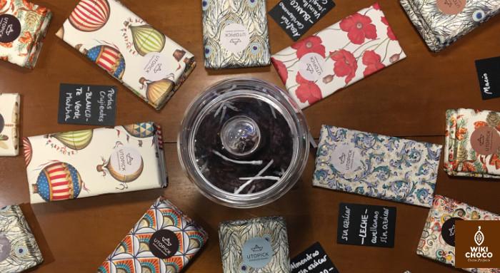 packaging de los chocolate de utopick