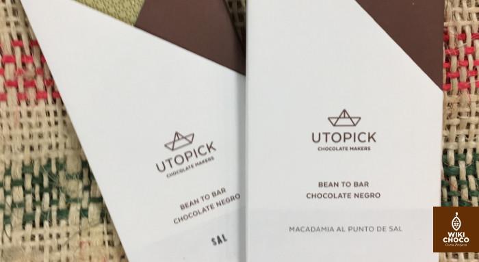 Chocolate bean to bar español utopick